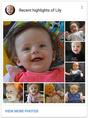 Google Foto's 2.2.0 momenten