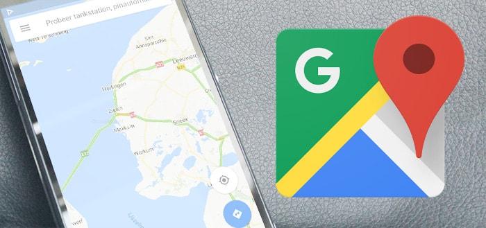 Google Maps voor Android test nieuwe werkbalk met snelkoppelingen