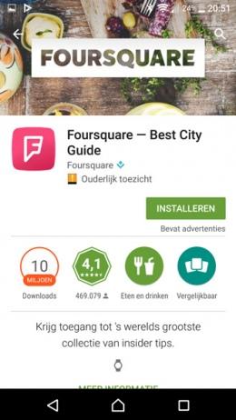 Google Play Store categorieën