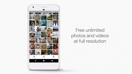 Google Pixel foto's onbeperkt