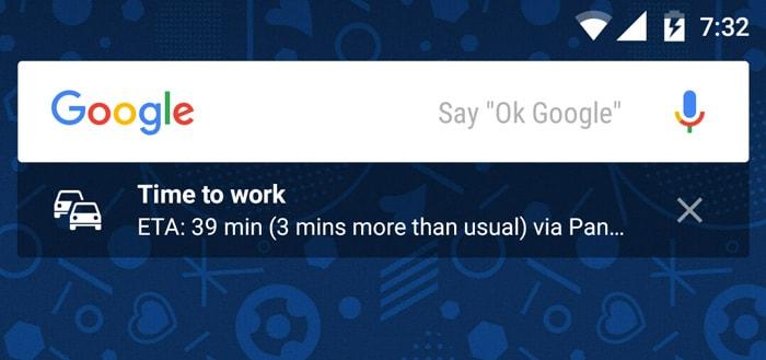 Google zoekbalk krijgt extra widget met handige informatie