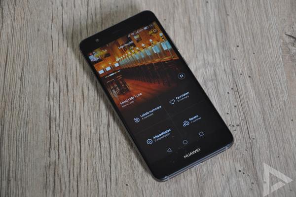 Huawei Nova muziekspeler