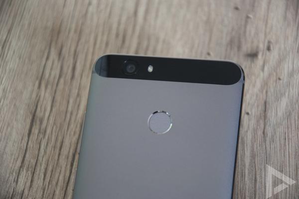 Huawei Nova vingerafdrukscanner