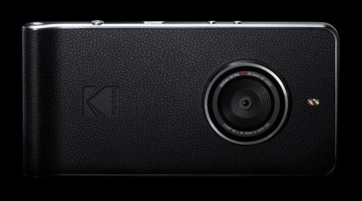 Kodak Ektra achter
