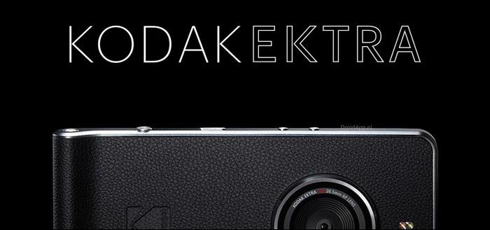 Kodak Ektra: dit is dé smartphone voor iedereen die van fotograferen houdt