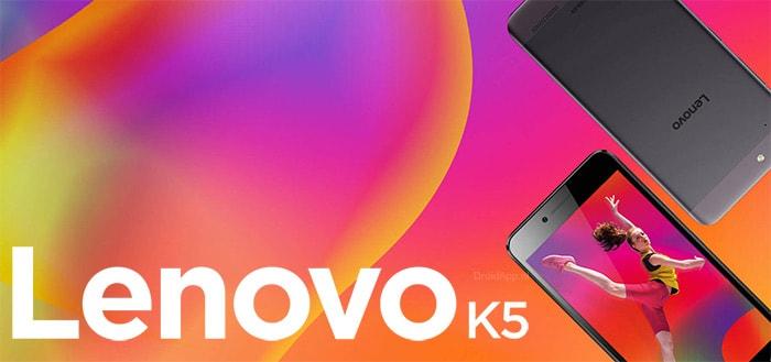 Lenovo K5 tijdelijk extra voordelig met 30 euro cashback-actie