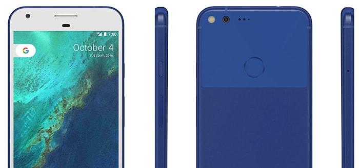 Pixel (XL) komt ook in blauwe kleur op de markt (foto's)