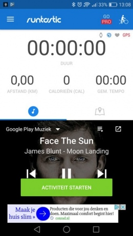 Runtastic Google Play Music