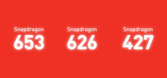 Snapdragon 652 626 427