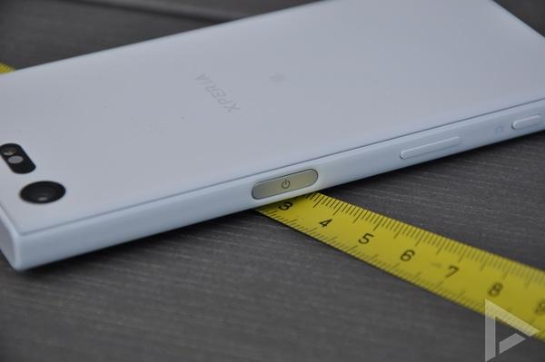 Sony Xperia X Compact vingerafdrukscanner