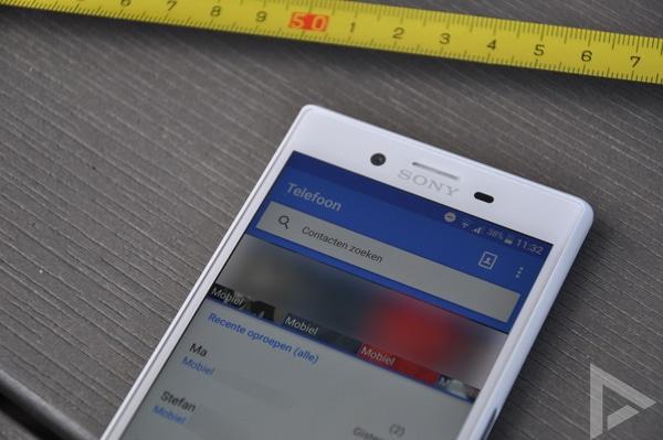 Sony Xperia X Compact telefoon