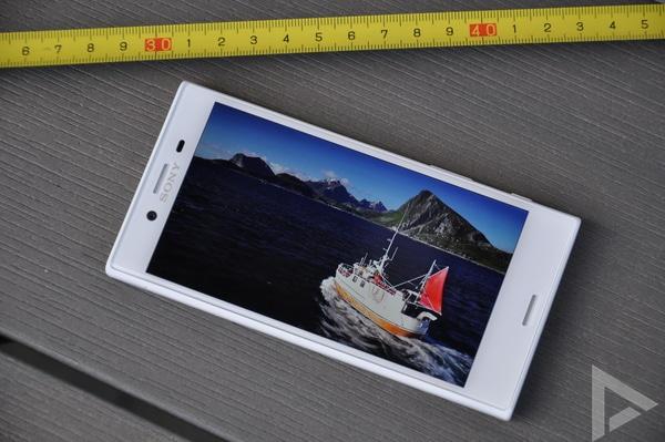 Sony Xperia X Compact beeldscherm