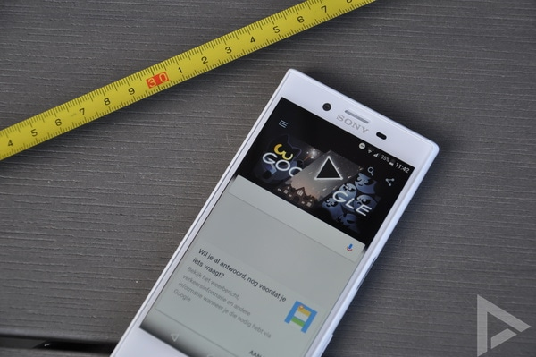 Sony Xperia X Compact Google Now