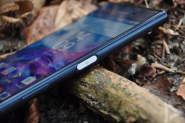 Sony Xperia XZ vingerafdrukscanner
