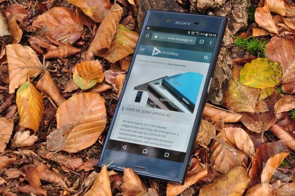 Sony Xperia XZ internet