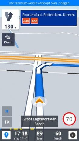 Sygic navigatie