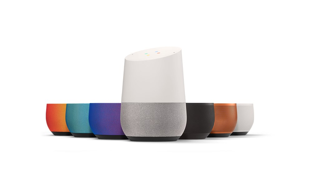 Google Home kleuren