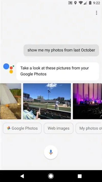 Google Foto's assistent