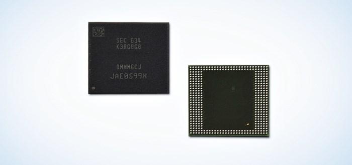 Samsung introduceert eerste 8GB LPDDR4 geheugen voor mobiele industrie