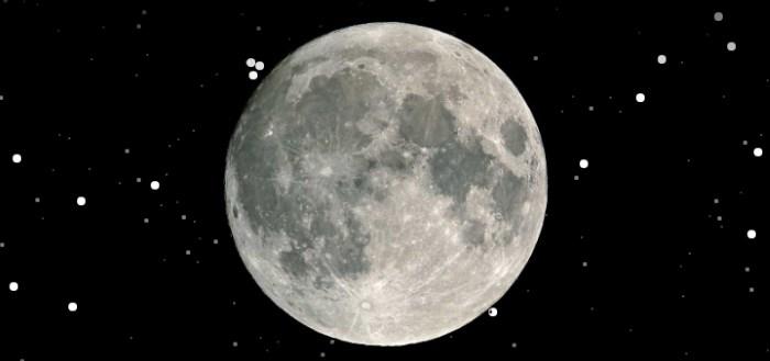My Moon Phase: kun je de maan vanavond zien?
