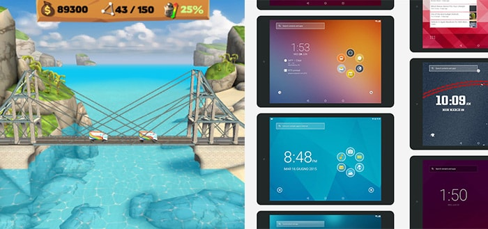 Smart Launcher 3 Pro en Bridge Constructor Playground afgeprijsd naar 10 eurocent in Play Store