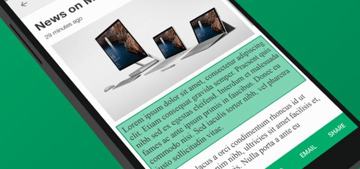 Microsoft lanceert slimme app voor Android: Clip Layer