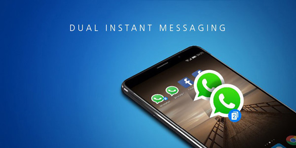 EMUI 5.0 dual instant messaging