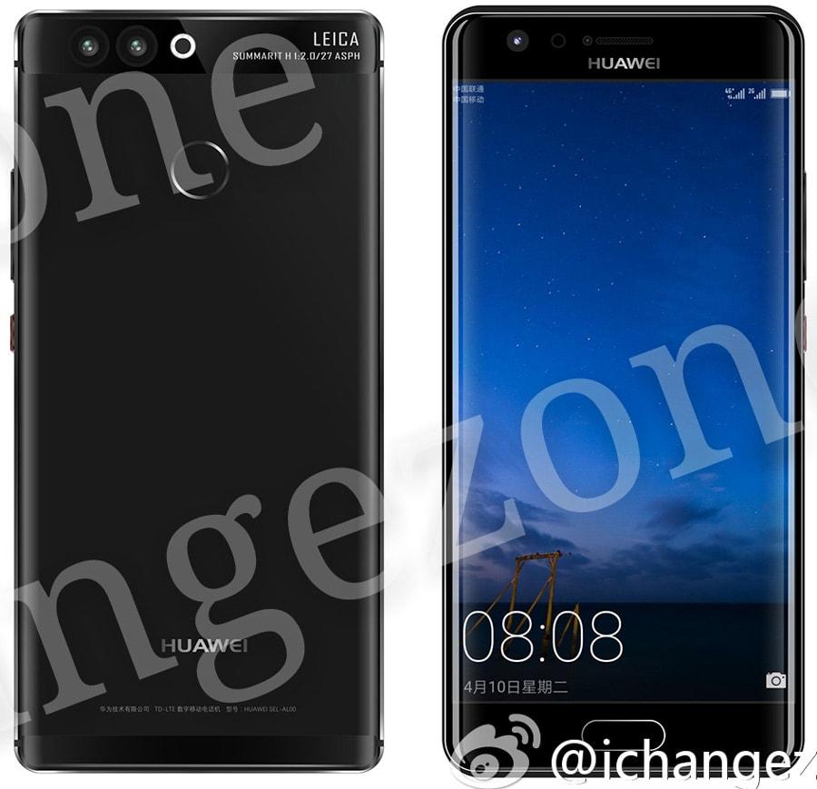 Huawei P10 - edge