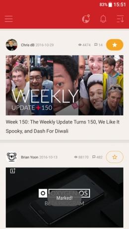 OnePlus Community app