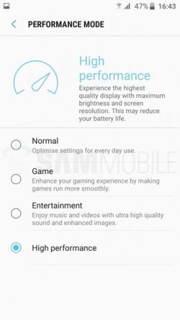 Samsung Grace UX Nougat