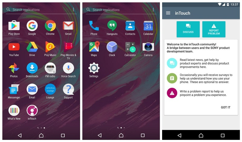 Sony Xperia X Android 7.0 Nougat Concept