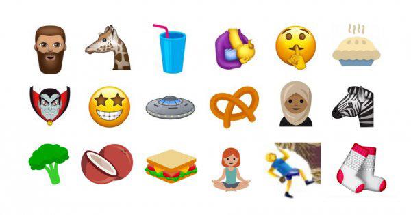 Maak kennis met de nieuwe emoji van 2017: nog dit jaar op jouw smartphone