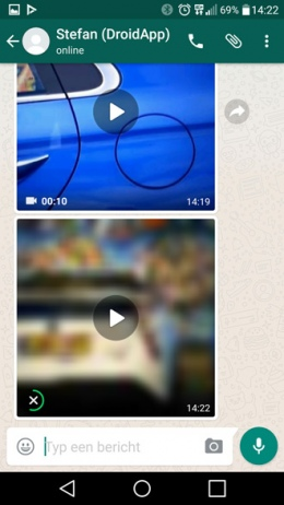 WhatsApp video download