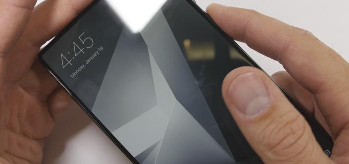 Bezel-loze Xiaomi Mi Mix onderworpen aan duurzaamheidstest