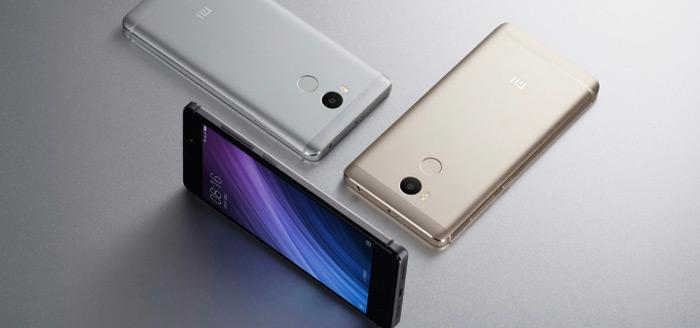 Xiaomi Redmi 4 serie aangekondigd: drie stijlvolle toestellen voor bizar lage prijs