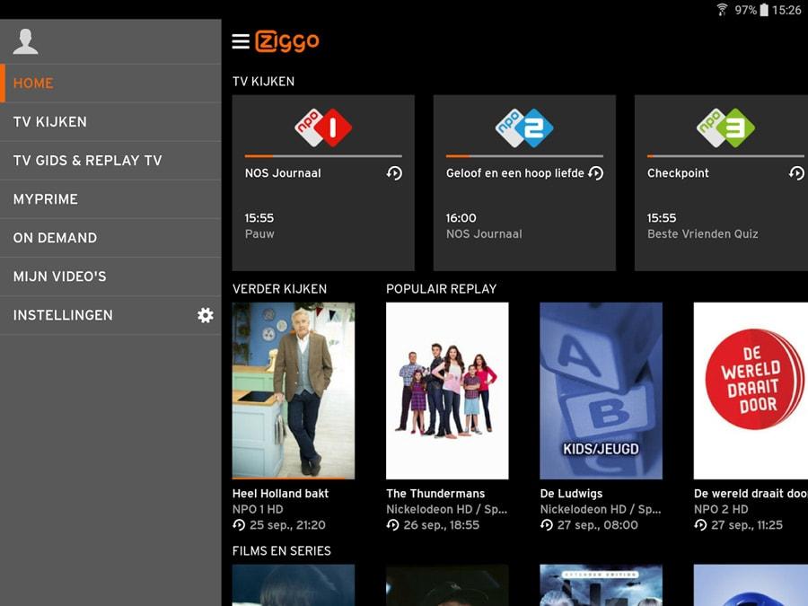 Ziggo GO app