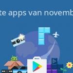 De 12 beste apps van november 2016
