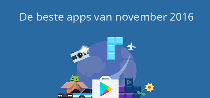De 12 beste apps van november 2016