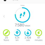 Fitbit pull-to-refresh