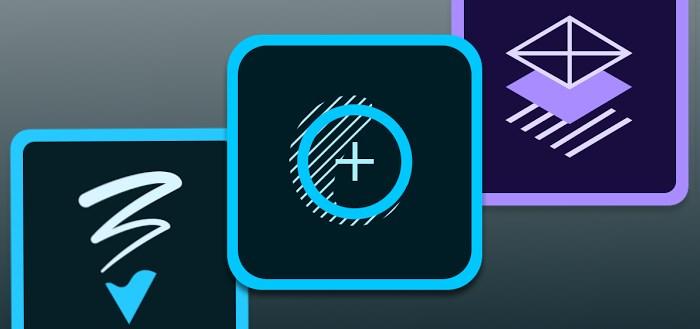 Adobe Photoshop Sketch, Fix en Comp CC uitgebracht voor Android