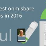 De 5 meest onmisbare apps van 2016 volgens Paul