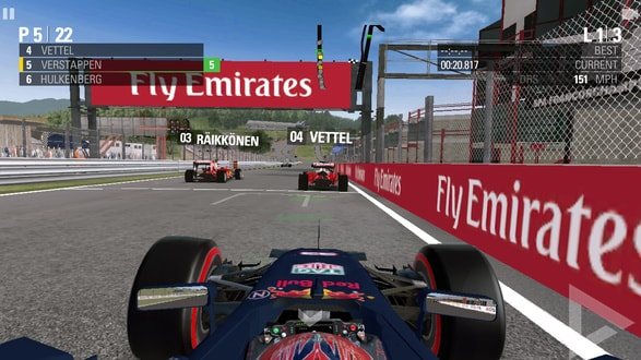 F1 game 2016 Android