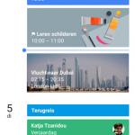 Google Agenda app