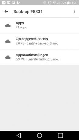 Google Drive Back-ups