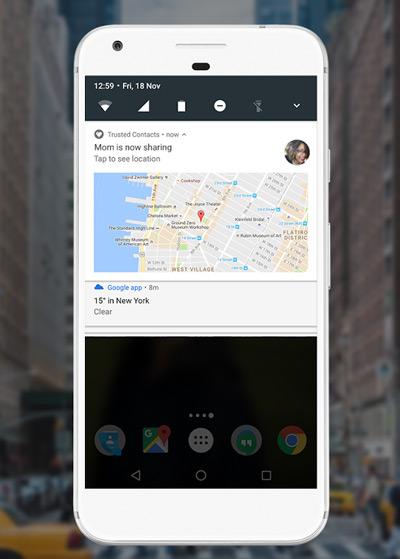 Google Vertrouwde Contacten app