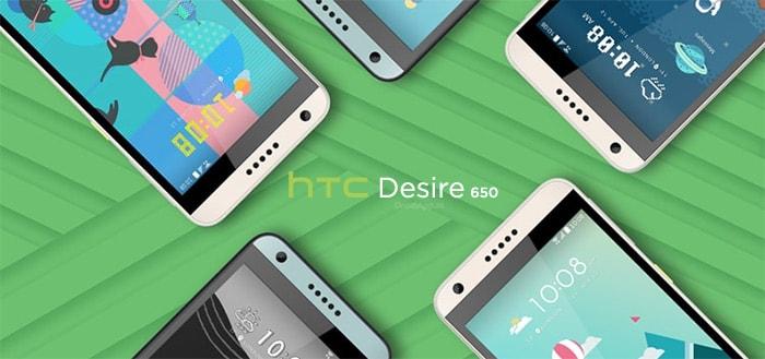HTC Desire 650: betaalbare smartphone met eigen design verkrijgbaar in Nederland