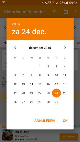 Offline Kalender App