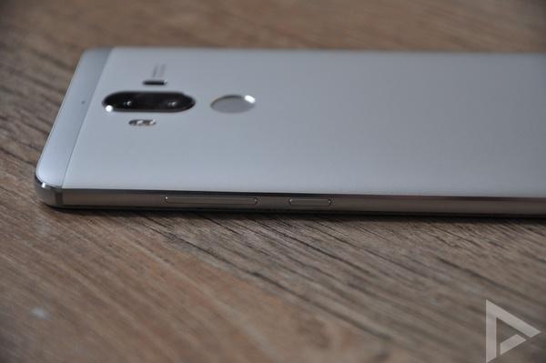 Huawei Mate 9 toetsen