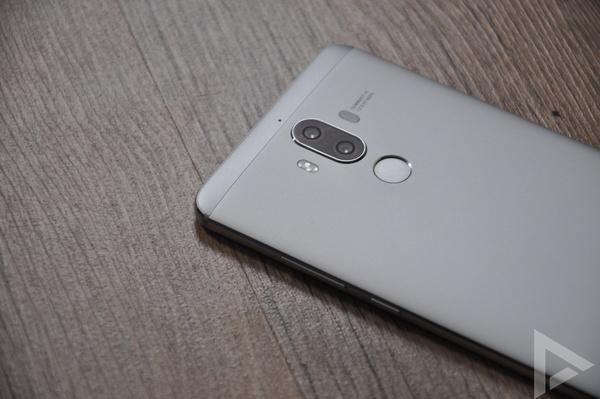 Huawei Mate 9 vingerafdrukscanner