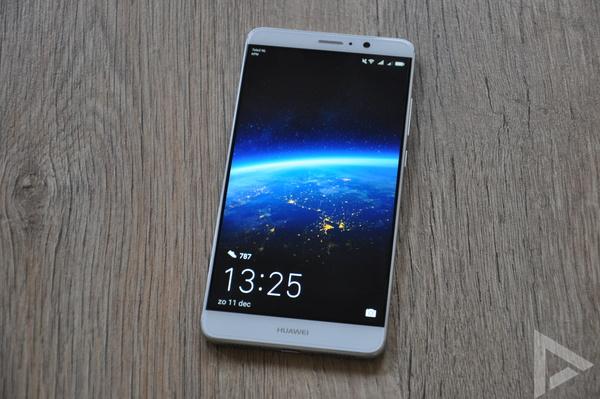 Huawei Mate 9 lockscreen